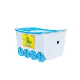 Контейнер для игрушек с крышкой Гусеница