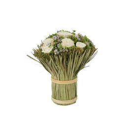 Декоративный букет Розы и цинния