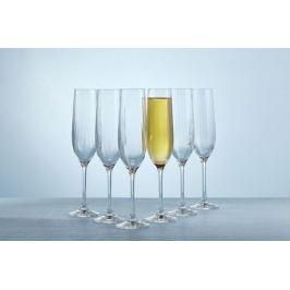 Набор бокалов для шампанского 190 мл Виола