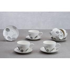 Чайный набор на 6 персон Bosqua Platina