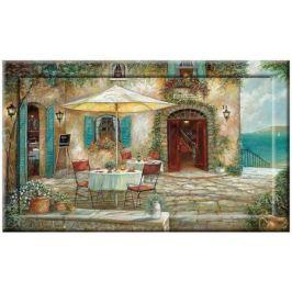 Картина с дорисовкой на раме Отель Casa dAmore