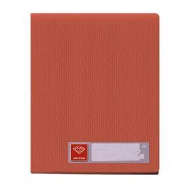 Папка с 20 прозр.вклад. Бюрократ Crystal -CR20RED A4 пластик 0.5мм красный 30 шт./кор.