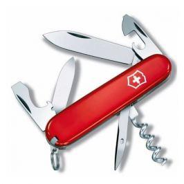 Складной нож VICTORINOX Tourist, 12 функций, 84мм, красный