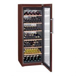 Винный шкаф LIEBHERR WKt 5552, однокамерный, коричневый