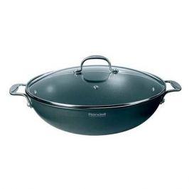 Сковорода ВОК (WOK) RONDELL Elements RDA-114, 32см, с крышкой, черный