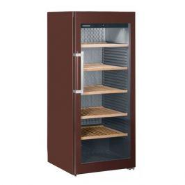 Винный шкаф LIEBHERR WKT 4552, однокамерный, коричневый
