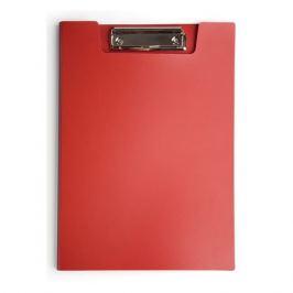 Папка клип-борд Бюрократ -PD602RED A4 пластик 1.2мм красный 20 шт./кор.