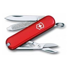 Складной нож VICTORINOX Classic, 7 функций, 58мм, красный