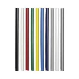 Скрепкошина Durable Spine Bars 2900-07 пластик 30листов 15х3мм темно-синий (упак.:100шт)