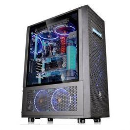 Корпус ATX THERMALTAKE Core X71 TG, Full-Tower, без БП, черный