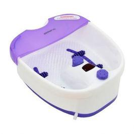 Гидромассажная ванночка для ног POLARIS PMB1006, белый, фиолетовый