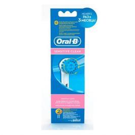Сменные насадки для электрических зубных щеток ORAL-B Sensitive Sensitive clean + Sensi Ultra Thin, 2 шт [81317999|81317999]