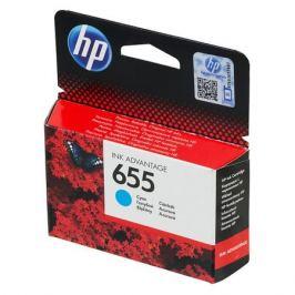 Картридж HP 655, голубой [cz110ae]