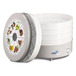 Сушилка для овощей и фруктов РОТОР Дива СШ-007-06, белый, 5 поддонов