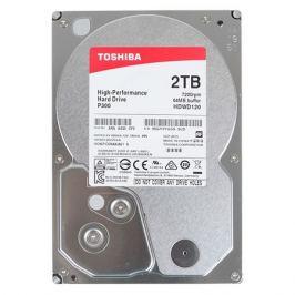 Жесткий диск TOSHIBA P300 HDWD120UZSVA, 2ТБ, HDD, SATA III, 3.5