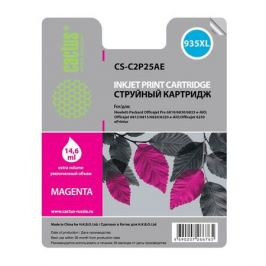 Картридж CACTUS CS-C2P25AE, №935XL, пурпурный