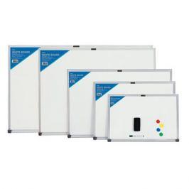 Демонстрационная доска Deli E7816 магнитно-маркерная лак 60x90см белый с аксессуарами