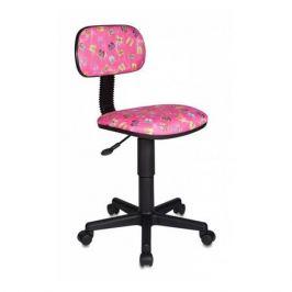 Кресло детское БЮРОКРАТ CH-201NX, на колесиках, ткань, розовый [ch-201nx/flipflop_p]