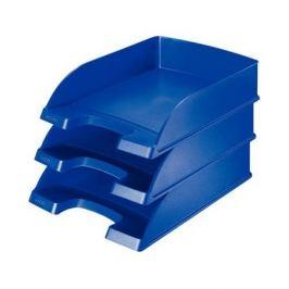 Лоток горизонтальный Esselte 52270035 Leitz A4 синий пластик