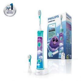 Электрическая зубная щетка PHILIPS Sonicare For Kids HX6322/04, цвет: белый