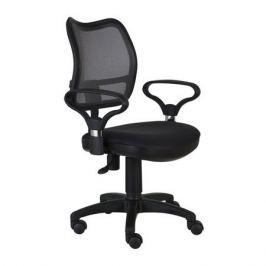 Кресло БЮРОКРАТ Ch-799AXSN, на колесиках, ткань, черный [ch-799axsn/tw-11]