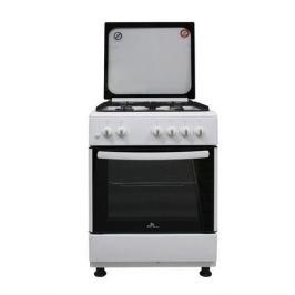 Газовая плита DE LUXE 606040.24-001г (кр) ЧР, газовая духовка, белый