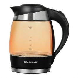 Чайник электрический STARWIND SKG2212, 2200Вт, оранжевый и черный