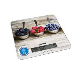 Весы кухонные VITEK VT-2429, бежевый/рисунок