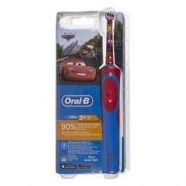 Электрическая зубная щетка ORAL-B Stages Power Cars, цвет: красный [80300245]