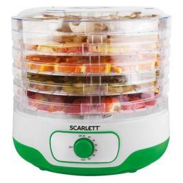 Сушилка для овощей и фруктов SCARLETT SC-FD421011, зеленый, 5 поддонов