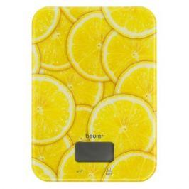 Весы кухонные BEURER KS19 lemon, рисунок