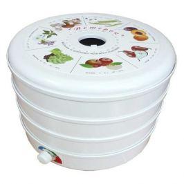 Сушилка для овощей и фруктов СПЕКТР-ПРИБОР Ветерок-3, белый, 3 поддона