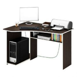 Стол компьютерный МАСТЕР Триан-1 левый угол, ЛДСП, венге