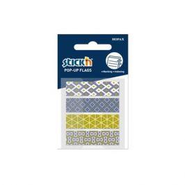 Закладки самокл. пластиковые Stick`n 26084 45x12мм 4цв.в упак. 20лист Z-сложение 24 шт./кор.