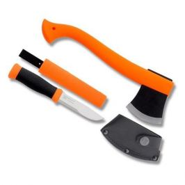 Набор нож/топор Mora Outdoor Kit (12096) компл.:1шт с топором оранжевый/черный