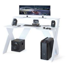 Стол игровой СОКОЛ КСТ-117, ЛДСП, белый