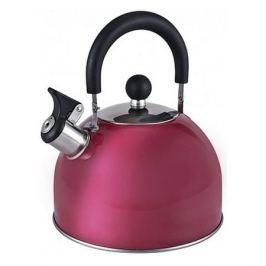 Металлический чайник ENDEVER 302, 3л, бордовый [80478]