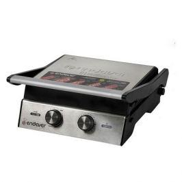 Электрогриль ENDEVER Grillmaster 240, черный и серебристый [80567]