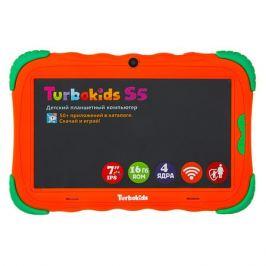 Детский планшет TURBO TurboKids S5, 1GB, 16GB, Android 8.1 оранжевый [рт00020505]