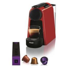 Капсульная кофеварка DELONGHI Nespresso Essenza mini Bundle EN85.R, 1260Вт, цвет: красный [0132191648]