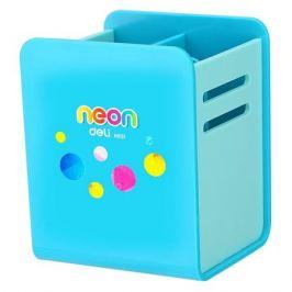 Подставка Deli EH85104 Neon для пишущих принадлежностей 80x85x105мм ассорти пластик 6 шт./кор.