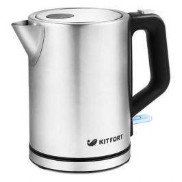 Чайник электрический KITFORT КТ-636, 2200Вт, нержавеющая сталь