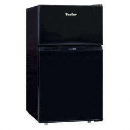 Холодильник TESLER RCT-100, двухкамерный, черный