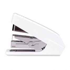 Степлер настольный Deli E0467WHITE Pro 24/6 26/6 (30листов) встроенный антистеплер белый 100скоб 6 шт./кор.
