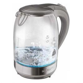 Чайник электрический SCARLETT SC-EK27G64, 2000Вт, серый