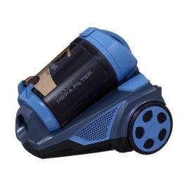 Пылесос SINBO SVC 3497, 2500Вт, синий/серый