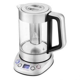 Чайник электрический KITFORT КТ-651, 2200Вт, серебристый