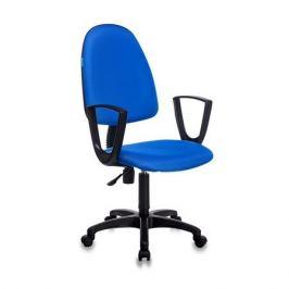 Кресло БЮРОКРАТ CH-1300N, на колесиках, ткань, синий [ch-1300n/blue]