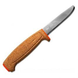 Нож Mora Floating Serrated (13131) стальной разделочный лезв.235мм серрейт. заточка оранжевый