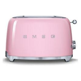 Тостер SMEG TSF01PKEU, розовый